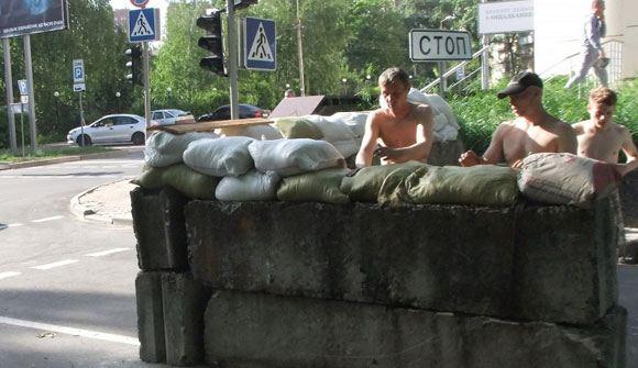 В Донецке престал ходить общественный транспорт