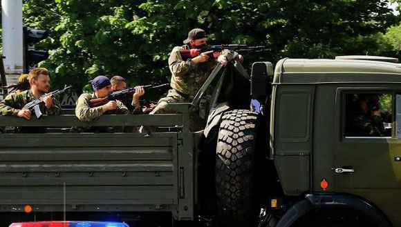 В Донецке снова начались бои