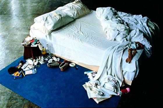 Знаменитая инсталляция «Моя кровать»