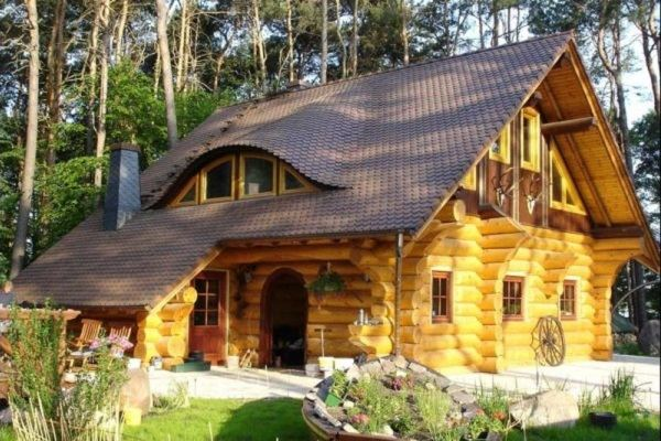 На Урале все чаще строят деревянные дома