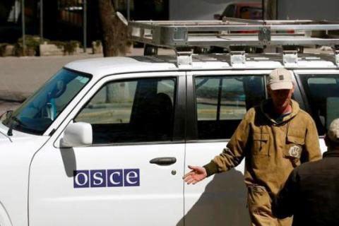 ОБСЕ пока не подтверждает сообщения об освобождении наблюдателей в ДНР