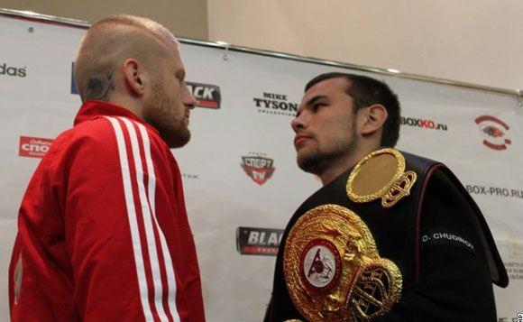 Дмитрий Чудинов победил в бою с Патриком Нильсеном
