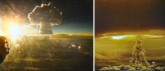 Самые большие взрывы в мире Интересные факты Ядерный взрыв царь бомбы