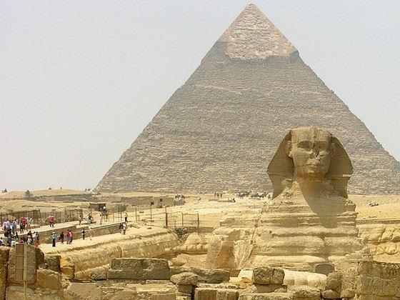 Высота самой большой пирамиды в мире 146 метров