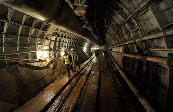 Темпы строительства московского метро растут
