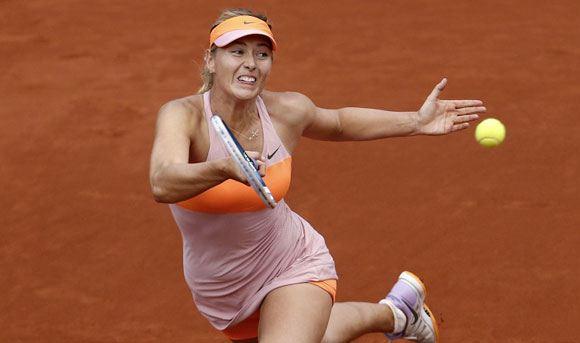 Мария Шарапова вышла в четвертьфинал Открытого чемпионата Франции по теннису