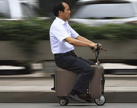 Чемодан-скутер Хи Лианкая