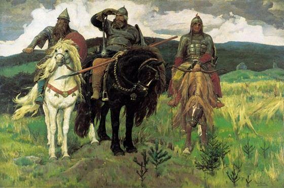 Богатыри - одна из самых известных картин Васнецова