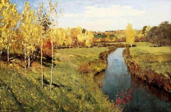 Исаак Левитан один из лучших российских пейзажистов