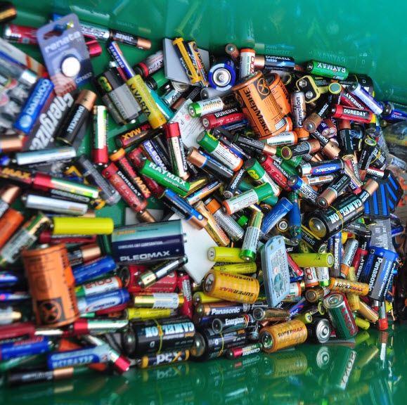 Экологическая акция по сбору отработанных батареек