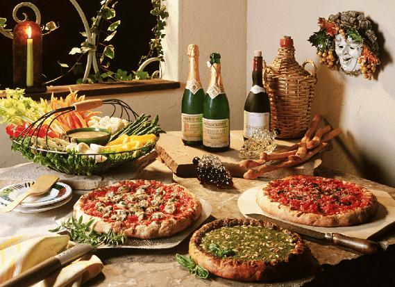 Блюда национальной кухни Италии