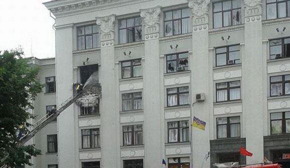 ЛНР объявила трехдневный траур по погибшим у областной администрации