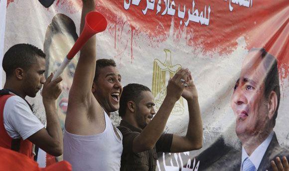 Бывший министр обороны набрал 97 процентов голосов на выборах президента Египта