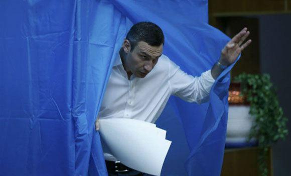 Новым мэром столицы Украины избрали Виталий Кличко