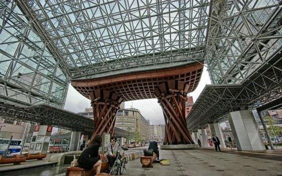 Вокзал Канадзаве входит в рейтинг самых красивых в мире