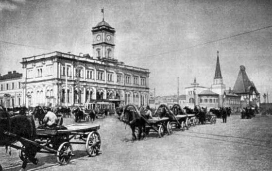 Ленинградский вокзал самый старый в Москве