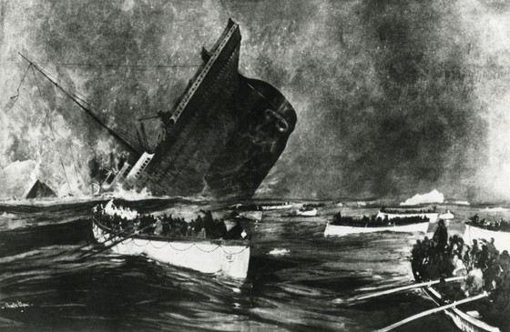 Крушение «Титаника» одна из самых известных катастроф