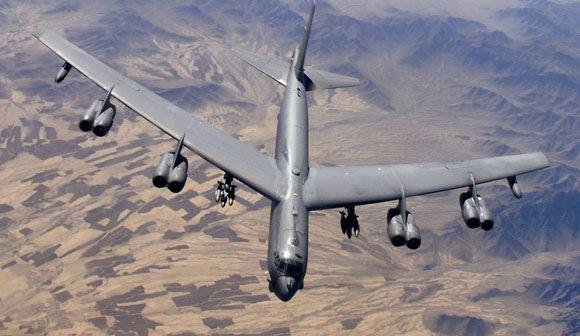 Американское командование направило в Великобританию три стратегических бомбардировщика