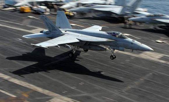 У берегов Калифорнии разбился истребитель ВМС США