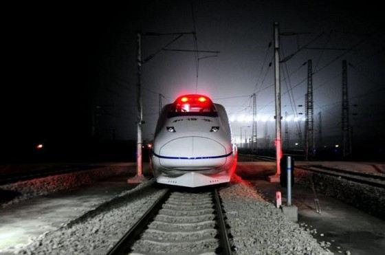 Самая длинная скоростная железная дорога находится в Китае
