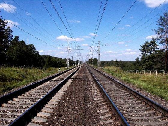 Самая длинная прямая железная дорога в России - Москва-Санкт-Петербург