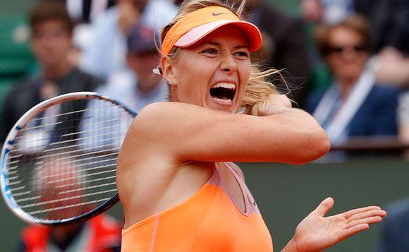 Мария Шарапова стала победительницей Открытого чемпионата Франции