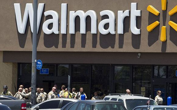 Двое подозреваемых устроили стрельбу в Лас-Вегасе, США