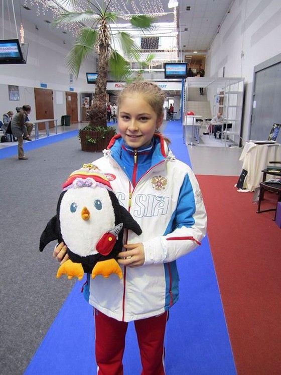 Юлия Липницкая самая юная российская победительница Олимпийских игр