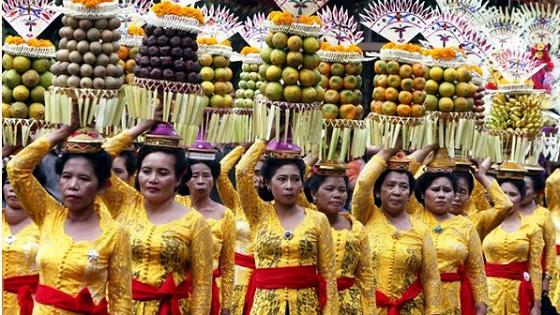Представители всех провинций Бали демонстрируют на Фестивале свое мастерство