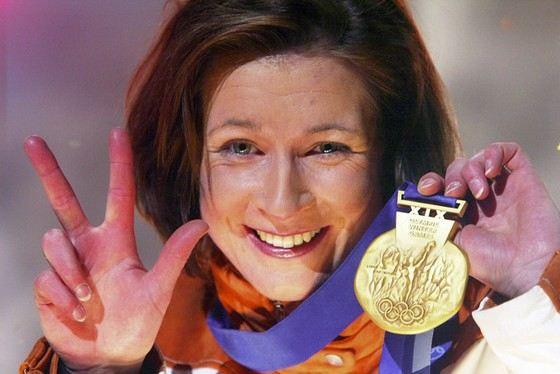 Клаудиа Пехштайн одна из самых возрастных спортсменок, ставших олимпийскими чемпионами