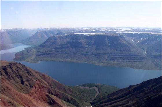 Хантайское озеро - самое глубокое озеро Сибири