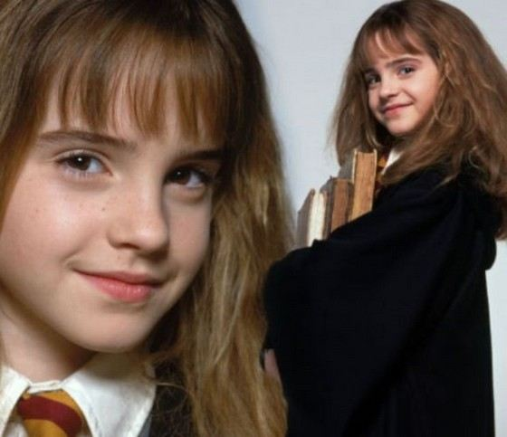 Emma Watson became famous in early childhood.