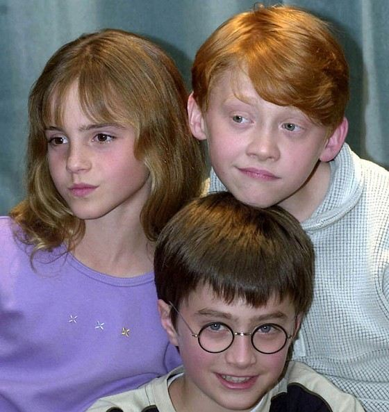 Young and mega-popular actors from the Harry Potter saga