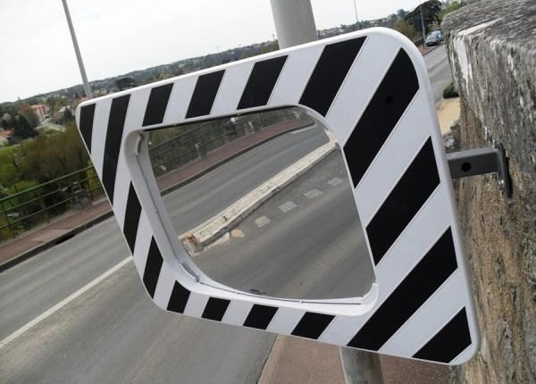 Уличное зеркало