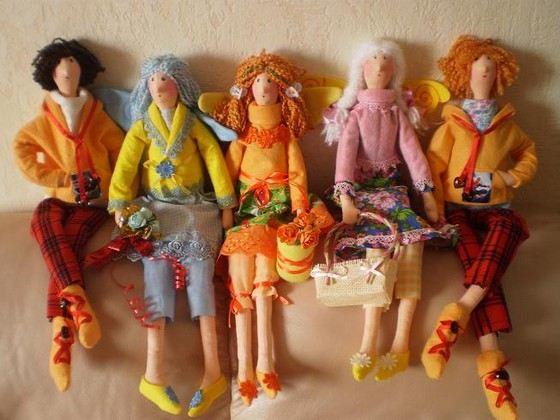 Интерьерные куклы тильды сейчас на гребне волны