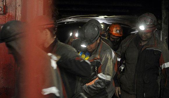 На шахте в городе Кировское взорвался газ
