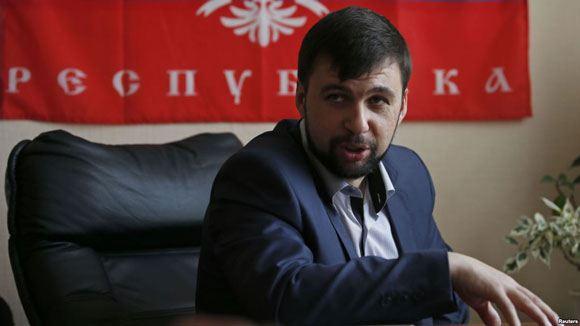 В Донецке подорвали микроавтобус Дениса Пушилина