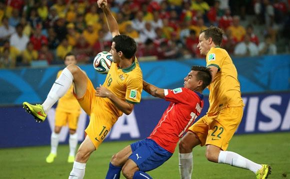 Сборная Чили обыграла Австралию
