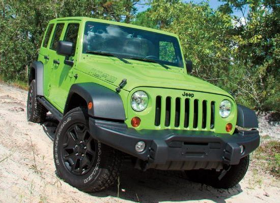 Jeep Wrangler Rubicon X �������� ������� ����� ����������