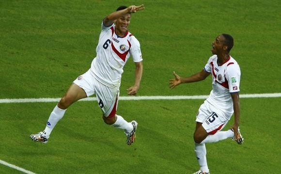 Сборная Коста-Рики победила Уругвай в матче группового этапа ЧМ