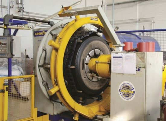 Партнер Goodyear начал производство в РФ восстановленных шин