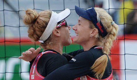 Американки выиграли турнир по пляжному волейболу в Москве