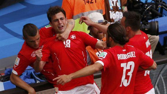 Сборная Швейцарии со счетом 2:1 победила Эквадор