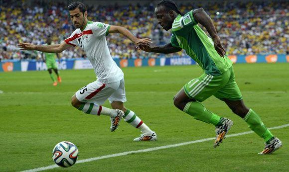 Нигерия и Иран оформили первую ничью на ЧМ по футболу