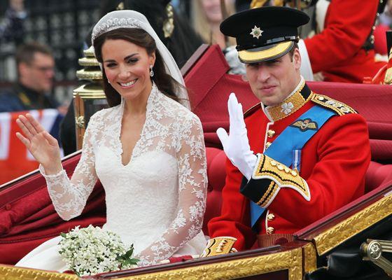 Свадьба Кейт Миддлтон и Принца Уильяма привлекла много внимания