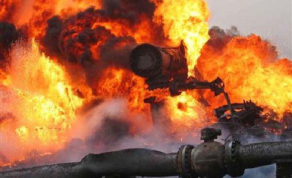 На Украине произошел еще один взрыв на газопроводе