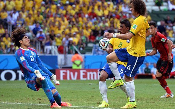Сборная Бразилии не смогла забить команде Мексики