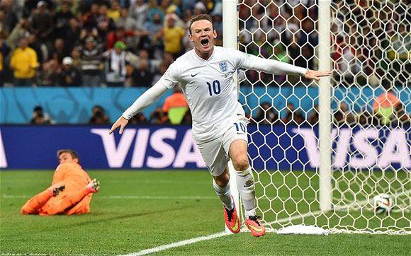 Руни не спас Англию от поражения Уругваю на ЧМ