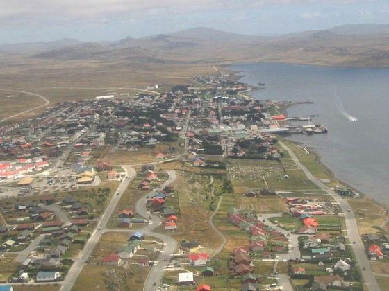 На Фолклендских островах живет всего чуть больше трех тысяч человек