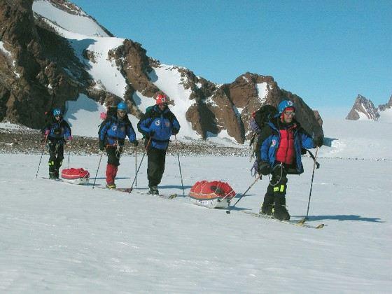 На Антарктиде кроме ученых никто не живет